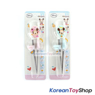 Disney-Mickey-Minnie-Mouse-Stainless-Steel-Training-Chopsticks-Set-Kids-Step-1