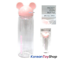 Disney Mickey Mouse Icon Bottle 500ml Pink   BPA Free  Tritan