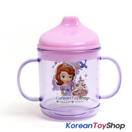 Disney-Princess-Sofia-the-First-Plastic-Handle-Cup-with-Lid-Kids-Baby
