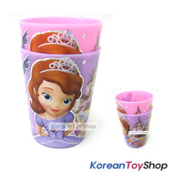 Disney-Princess-Sofia-the-First-Plastic-2-pcs-Cup-Set-Cups-Light-&-Strong
