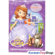 Disney Princess Sofia the First Mini Sticker Book 6 Sheets & Background Sheets