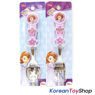 Disney-Sofia-the-First-Princess-Cute-Stainless-Steel-Spoon-Fork-Set