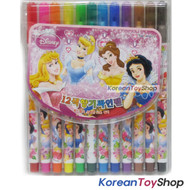 Disney Princess 12 Colors Felt Tip Pens High Quality