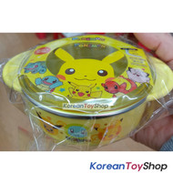 Pokemon Pikachu Stainless Steel Bowl w/ Handle, Lid, Non Slip Pads / BPA Free