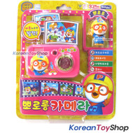 Pororo Figure & Melody Camera Toy Slide Show Sound & LED Effect Theme Song Pink
