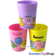 Barbapapa Cute Plastic 3 pcs Cups Set Strong and Light Party Supplies 3 Colors