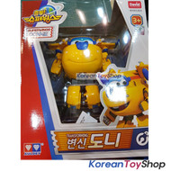 Super Wings DONNIE Transformer Robot Toy Season 2 New Version