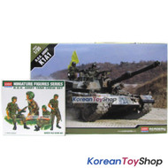Academy 13215 & 1369 1/35 Plastic Model Kit ROK K1A1 & ROK Army Tank Crew Set