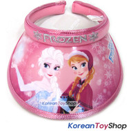 Disney Frozen Visor Hat Sun Cap Kids Girl Pink Elsa Anna Designed by Korea N.38