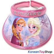 Disney Frozen Visor Hat Sun Cap Kids Girl Pink Elsa Anna Designed by Korea N.36