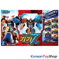 TOBOT Giga Seven 7 Transformer Robot Toy X Y Z D Teracle Cargo Action Figures