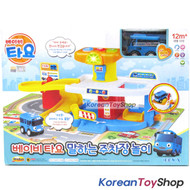 The Little Bus Tayo Baby Parking Garage Sound Play Set w/ Mini Car Tayo Toy