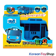 The Little Bus TAYO Main Plastic Diecast Toy Car Original TAYO Model Blue