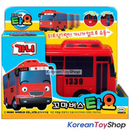 The Little Bus TAYO Main Plastic Diecast Toy Car Original Gani Model Red Bus