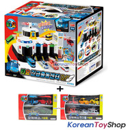 Tayo Bus Emergency Rescue Center Headquarter Main Garage Play Set Toy + 10 pcs