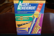 Alfred's Accent on Achievement E Flat Baritone Saxophone Book 1(w/ CD)