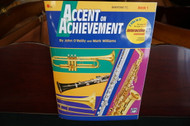 Alfred's Accent on Achievement Baritone T.C. Book 1 (w/ CD)