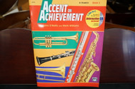 Alfred's Accent on Achievement B Flat Trumpet Book 2 (w/ CD)