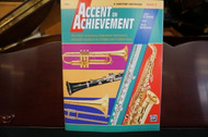 Alfred's Accent on Achievement E Flat Baritone Saxophone Book 3