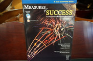 Measures of Success E Flat Alto Saxophone Book 1 (w/ CD)
