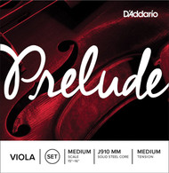 D'Addario Prelude Viola String Set, Medium Scale, Medium Tension