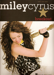 Miley Cyrus Breakout Piano Vocal and Guitar