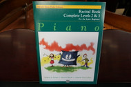 Alfred's Basic Piano Library Recital Book Complete Levels 2 & 3