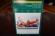Alfred's Basic Piano Library Technic Book Complete Levels 2 & 3