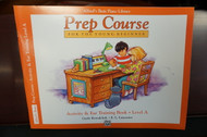 Alfred's Basic Piano Library Prep Course Activity & Ear Training Book Level A