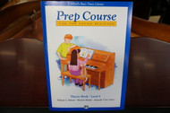 Alfred's Basic Piano Library Prep Course Theory Book Level E