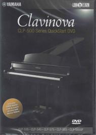 Yamaha Clavinova CLP-500 Series QuickStart DVD