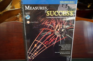 Measures of Success Percussion Book 1 (w/ CD)