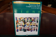 Alfred's Basic Piano Library Repertoire Book Complete Levels 2 & 3