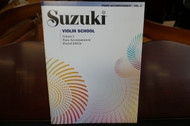 Suzuki Violin School Piano Accompaniment Volume 2 (Revised Edition)