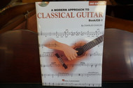 A Modern Approach To Classical Guitar Book/CD 1