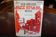 New Orleans Jazz Styles Duets Early Intermediate With CD