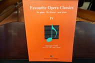 Favourite Opera Classics for Piano IV