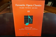 Favourite Opera Classics for Piano III