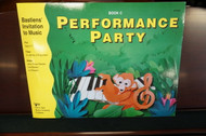Bastiens' Invitation to Music Performance Party Book C