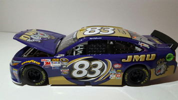Nascar #83 JMU Replica Diecast Race Car 1:24 Limited Edition