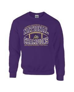 2016 NCAA TRT Purple Arch Football Crew Neck
