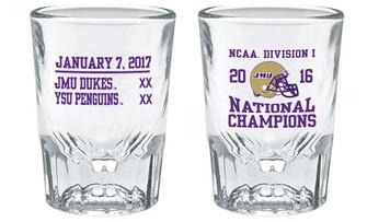 2016 NCAA Clear Shot Glass