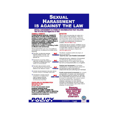 Sexual Harassment Federal Law