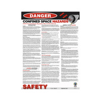 Confined Space General Poster