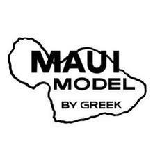 Maui Model Sticker