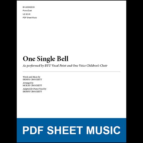 One Single Bell (Piano/Duet) [PDF Sheet Music]