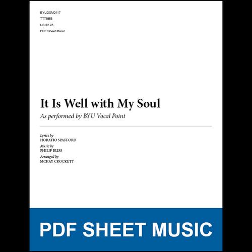 It Is Well with My Soul (Arr. by McKay Crockett - TTBB) [PDF Sheet Music]