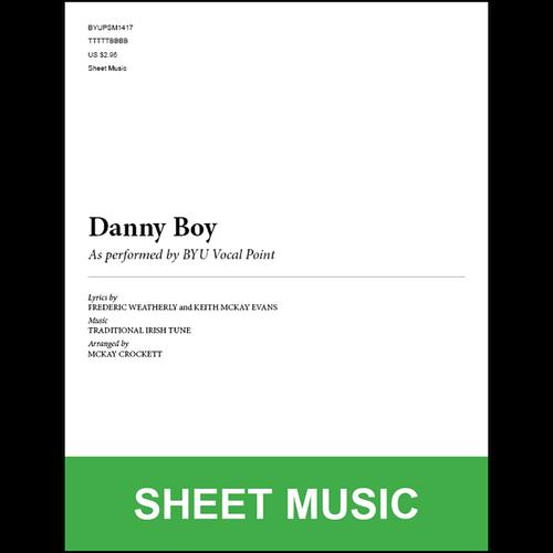 Danny Boy (Arr. by McKay Crockett - TTBB) [Physical Sheet Music]