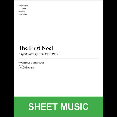 The First Noel (Arr. by McKay Crockett - TTBB) [Physical Sheet Music]