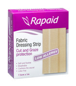 Rapaid Fabric Dressing Length 7.5cm x 1M